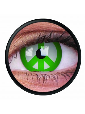 Green Peace Crazy Colour Contact Lenses (1 Year)