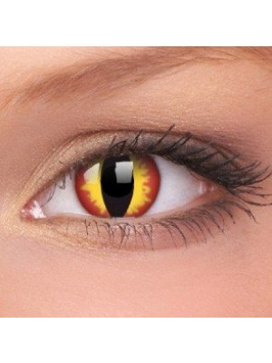 Dragon Eyes Crazy Colour Contact Lenses (1 Year Wear)