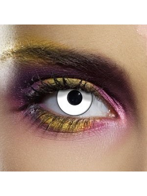 EDIT Colour Vision White Zombie Contact Lenses
