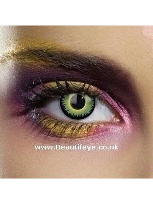 EDIT Colour Vision Green Werewolf Contact Lenses