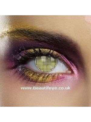 EDIT Colour Vision Hazel Mesh Contact Lenses