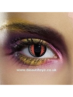 EDIT Crazy Fire Dragon Contact Lenses