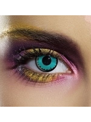 EDIT Crazy Green Elf Contact Lenses