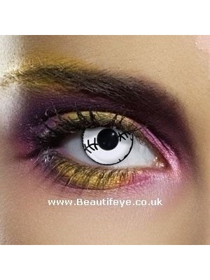 EDIT Crazy Stitched Mummy Contact Lenses