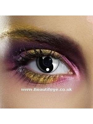 EDIT Crazy Yin Yang Contact Lenses
