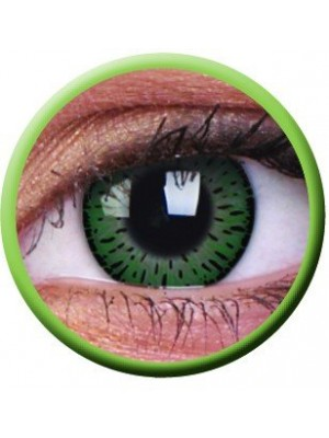 ColourVUE Elegance Green Coloured Contact Lenses