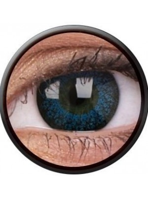 ColourVUE Eyelush Blue Coloured Contact Lenses