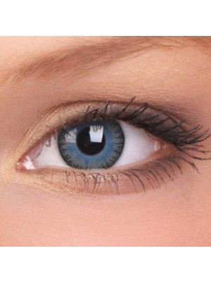 ColourVUE Fusion Grey Blue Coloured Contact Lenses (30 Day)