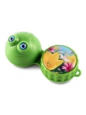 Funky Frog 3D Contact Lens Storage Case