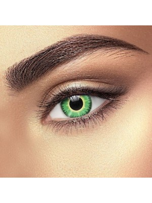 Fusion Green Yellow Coloured Contact lenses