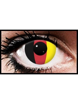 Germany Flag Colour Contact Lenses (90 Day)