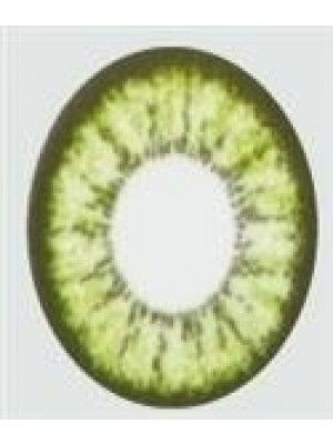 Illusion Green Coloured Contact Lenses (90 Day)