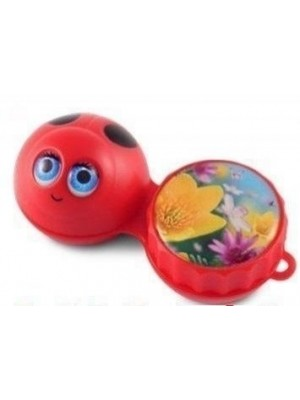 Ladybird 3D Contact Lens Storage Case