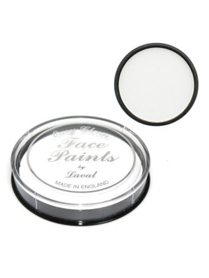 Halloween Vampire Laval Easy Clean Face Paint - White 12g