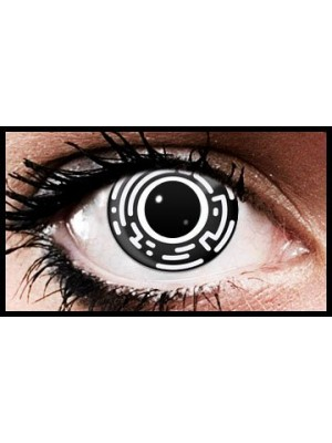 Matrix Crazy Halloween Coloured Contact Lenses (90 Days)
