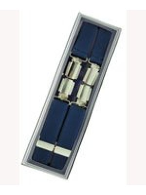 Men's Hardwearing Navy 25mm Fashion Braces