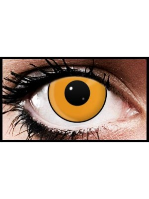 Orange Manson Crazy Coloured Contact Lenses (90 days)