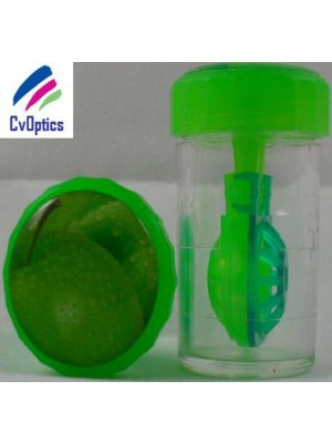 Apple Fruit Contact Lens Storage Soaking Barrel Case