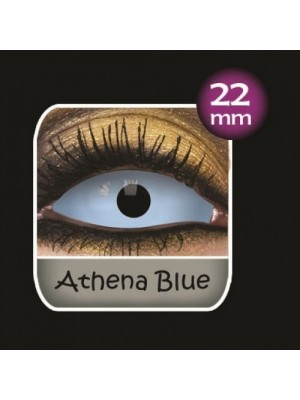 Athena Blue Sclera Full Eye Contact Lenses 22mm (6 Month)