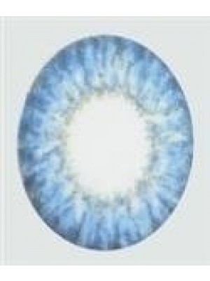 Sky Blue Coloured Contact Lenses (90 Day)