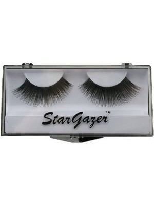 Stargazer Reusable False Eyelashes Natural Black 16