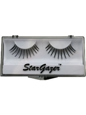 Stargazer Reusable False Eyelashes Natural Black 18