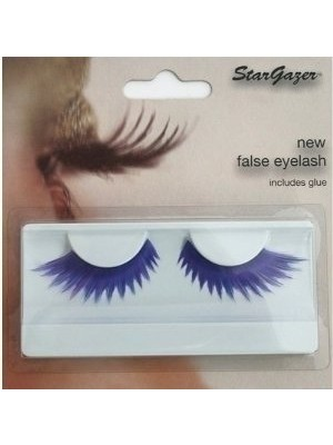 Stargazer Reusable False Eyelashes Purple and Blue 49