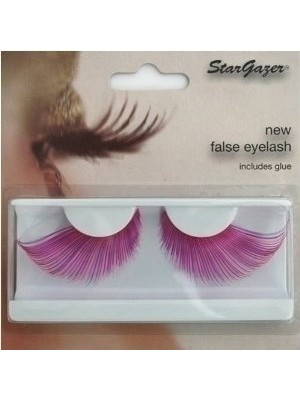 Stargazer Reusable False Eyelashes Pink and Purple 57