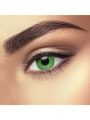 Illusion Green 2 Tone Coloured Contact Lenses