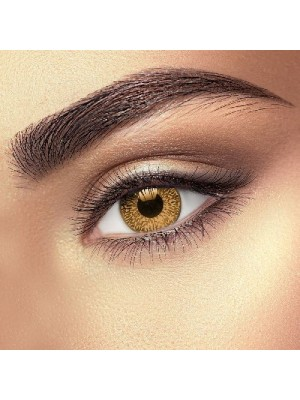 Warm Hazel 2 Tone Coloured Contact Lenses