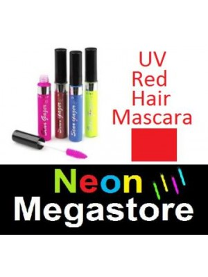New Stargazer Colour Streak Hair Mascara - UV Neon Red