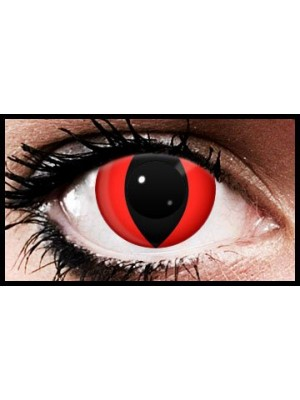Vampire Eyes Crazy Coloured Contact Lenses (90 Day)