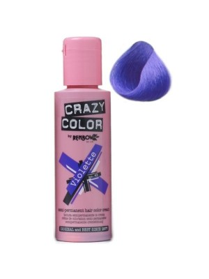Crazy Colour Hair Dye Violette