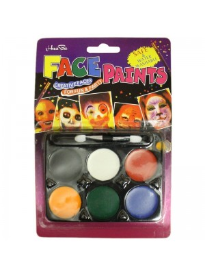 Water Washable Face Paint Kit