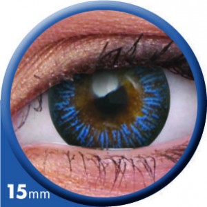 ColourVUE Big Eye Enchanter Blue Contact Lenses
