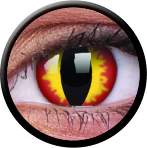 1 Day Use Dragon Eyes Coloured Contact Lenses