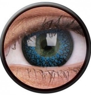 ColourVUE Eyelush Aqua Coloured Contact Lenses