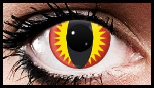 Pheonix Crazy Coloured Contact Lenses (90 Days)