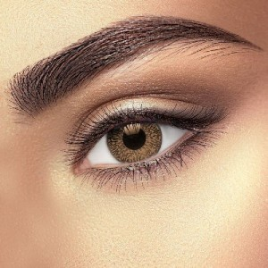 Oak Brown 2 Tone Coloured Contact Lenses