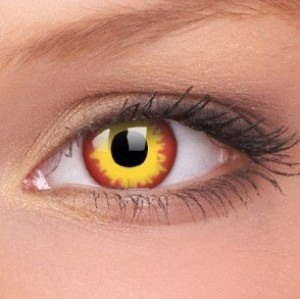 Wildfire Crazy Colour Contact Lenses (1 Year Wear)