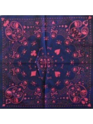 Skull Pattern Design 3 Bandana Head Scarf