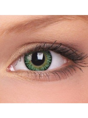 ColourVUE Green 3 Tones Coloured Contact Lenses (90 Day)