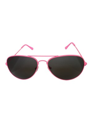 Neon Pink Aviator Sunglasses One Size Fits All UV400 Protection