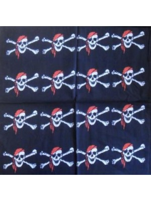 Skull Pattern Design 8 Bandana Head Scarf