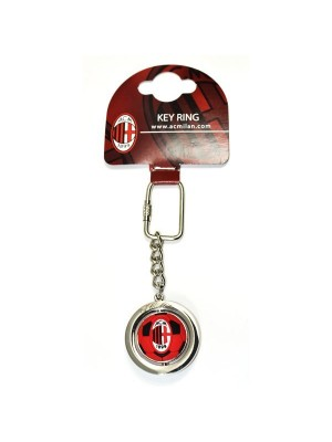 AC Milan Football Spinner Keyring