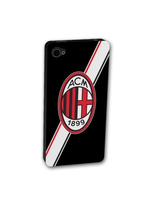 AC Milan iPhone 5 Silicone Phone Cover - Stripe