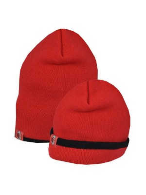 AC Milan Reverse Cuff Knitted Hat