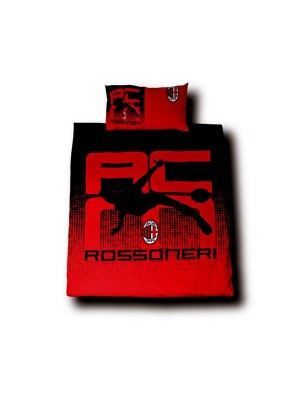 AC Milan Rossoneri Single Duvet Set