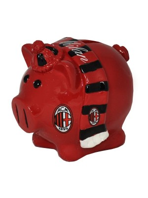 AC Milan Scarf Piggy Bank