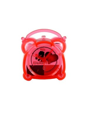 AC Milan Transparent Mini Alarm Clock 2